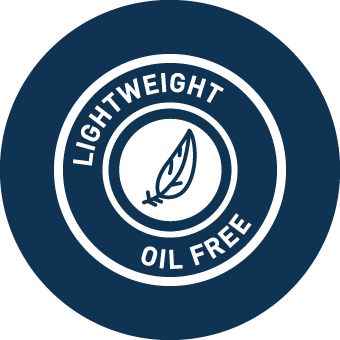 Lightweight & Oil Free